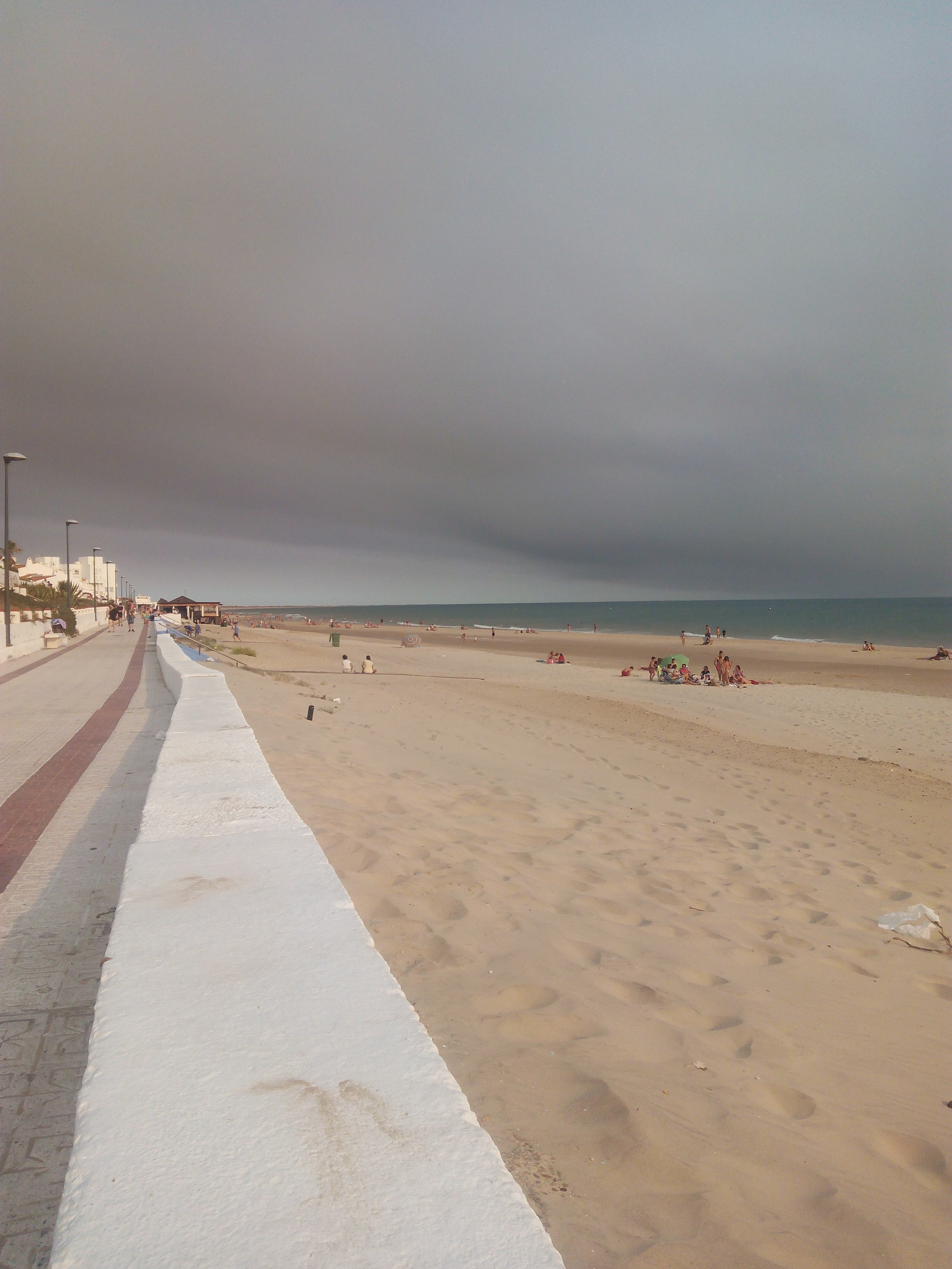 Estoy en Matalascañas mientras arde Doñana
