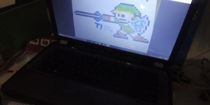 Los niños dibujan con Youtube y Google. Mi tele es una tablet