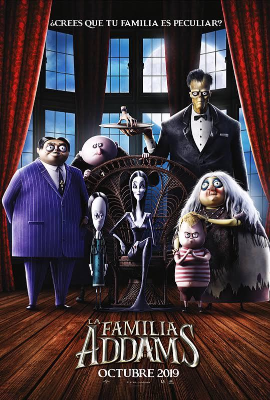pelicula familia addams